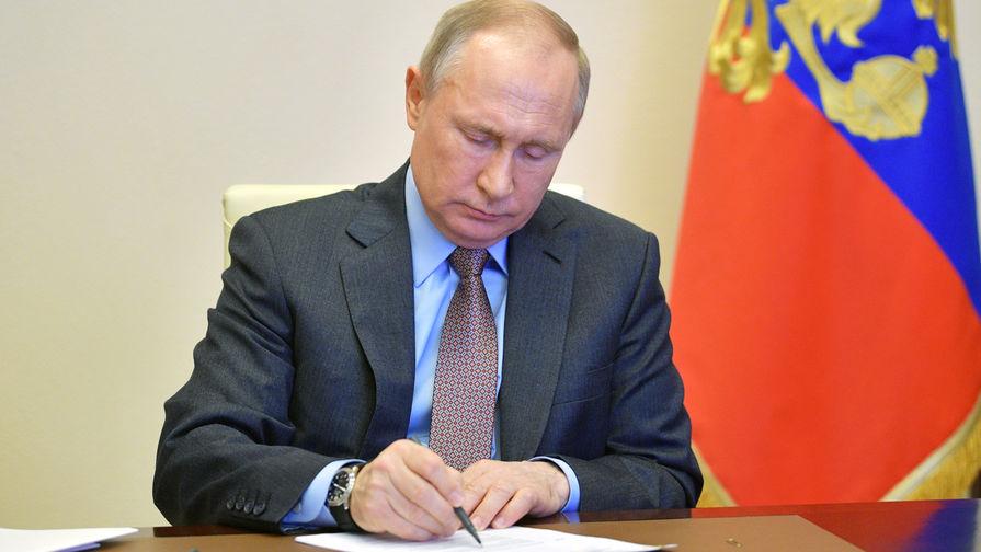 Путин подписал закон, ратифицирующий договор о военном сотрудничестве РФ с Казахстаном