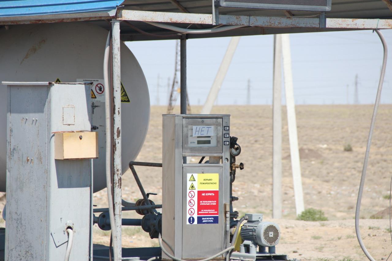 В Кызылординской области ощущается недостаток газа для автомобилей