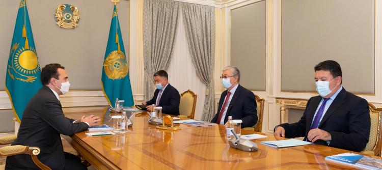 Глава государства поручил завершить строительство ГОК ко Дню независимости