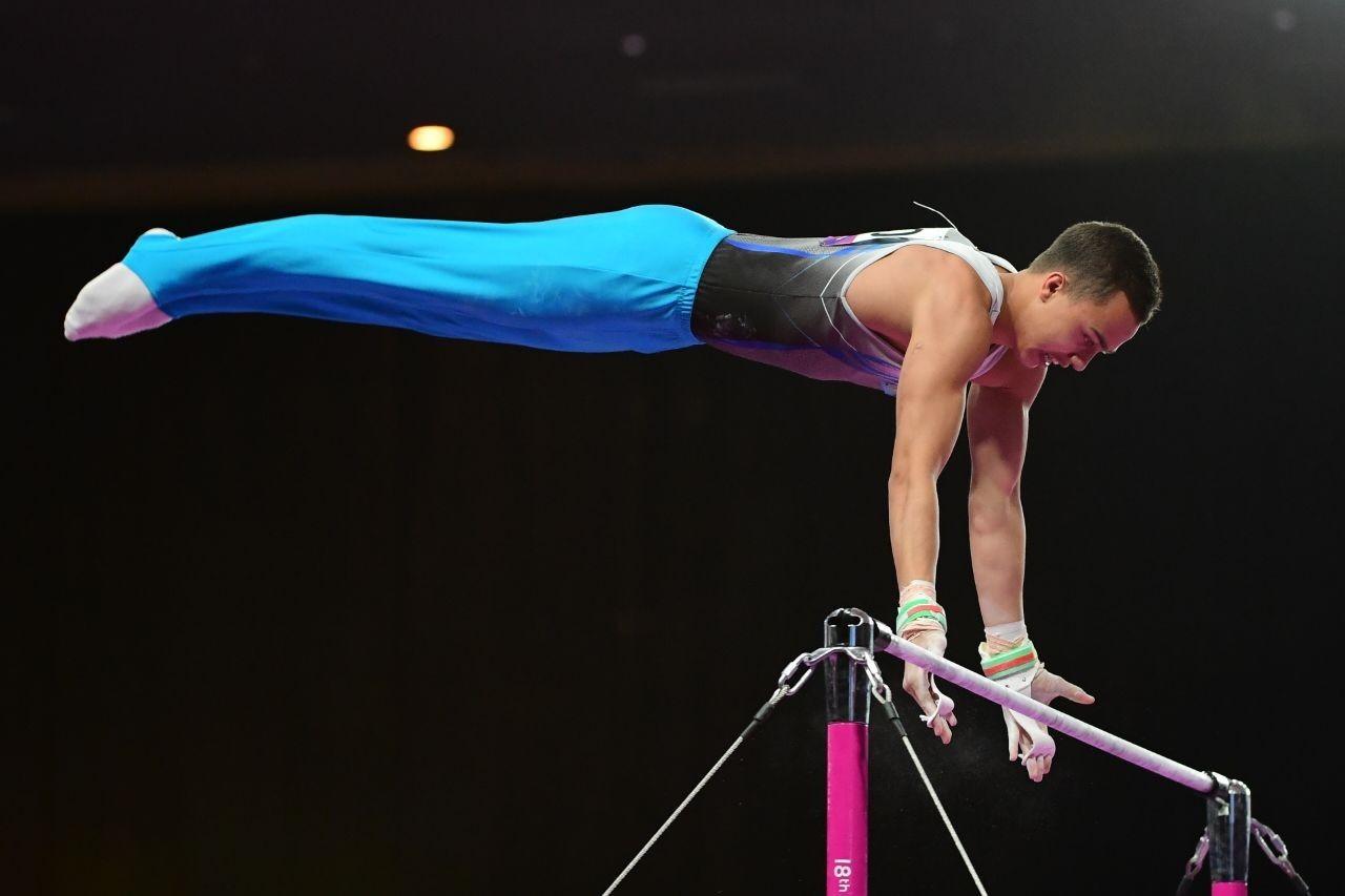 Гимнаст Милад Карими вышел в финал этапа Кубка мира с первым результатом