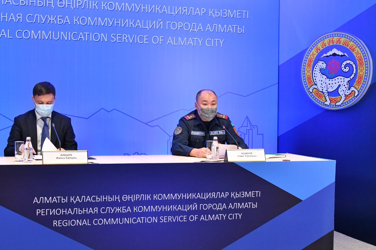 В Алматы за год произошло около 600 пожаров