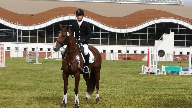 Международный турнир по троеборью: конник РК  стал вторым