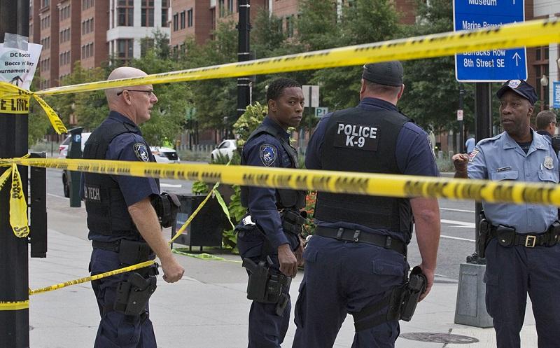 Стрельба в Вашингтоне: один человек погиб, восемь ранены
