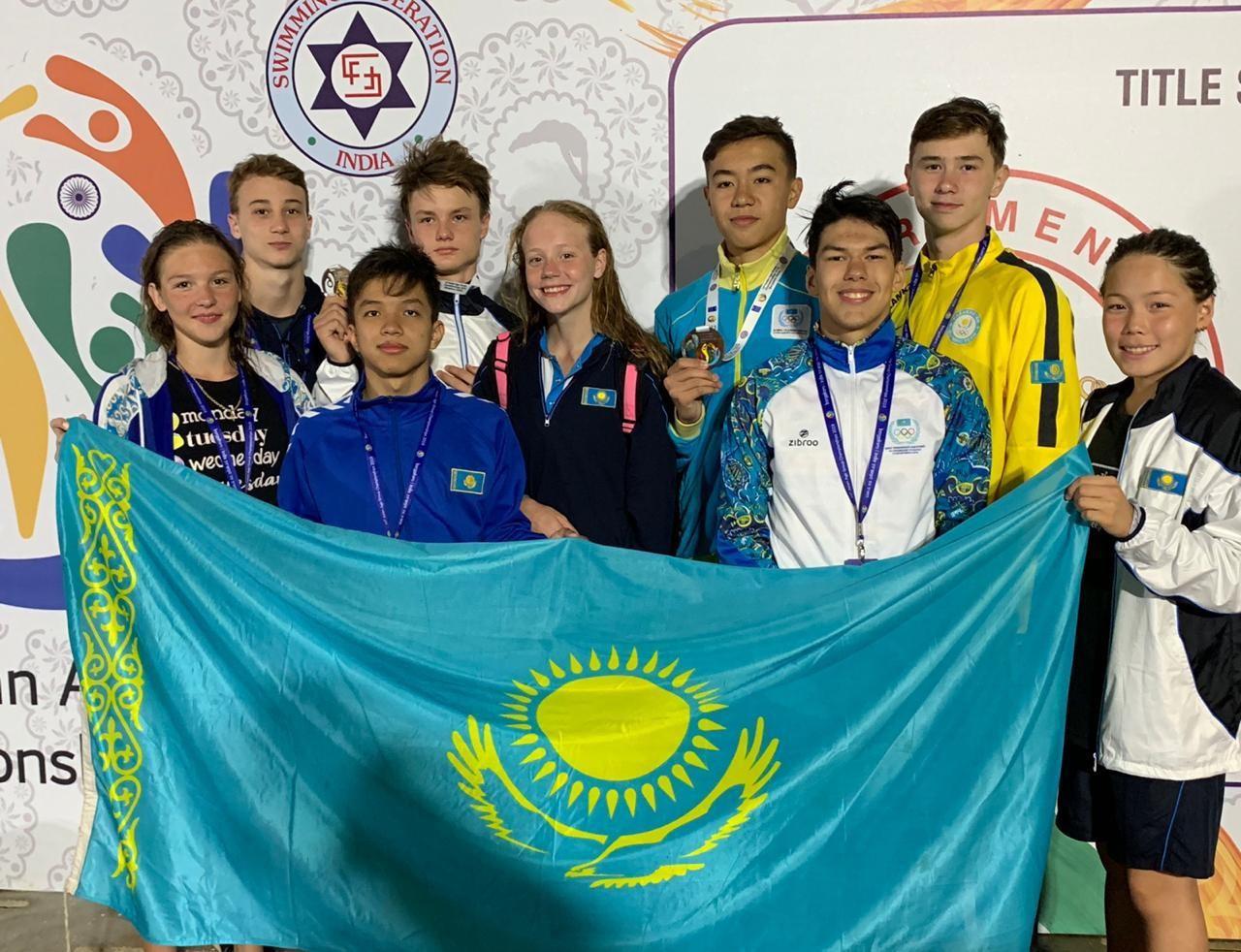 Су спорты түрлерінен Азия чемпионатынан тағы төрт медаль алдық