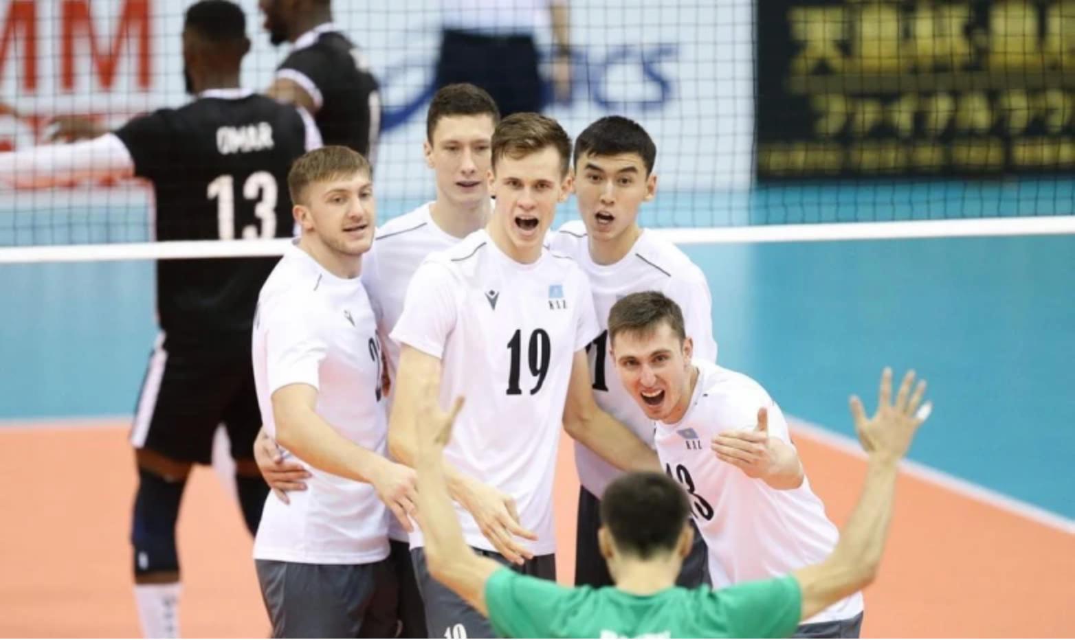 Казахстанские волейболисты одержали победу на чемпионате Азии
