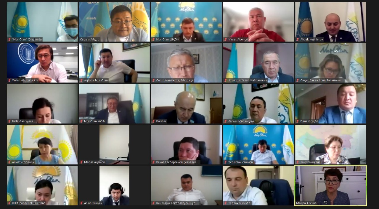 В Nur Otan предложили закрепить в законодательстве статус коммунальных служащих
