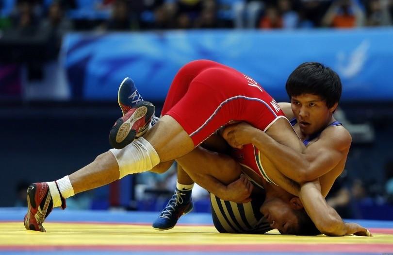 Как казахстанцы выступили на международном турнире по вольной борьбе