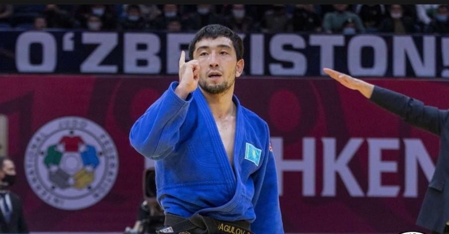Жансай Смагулов завоевал серебро Grand Slam в Ташкенте