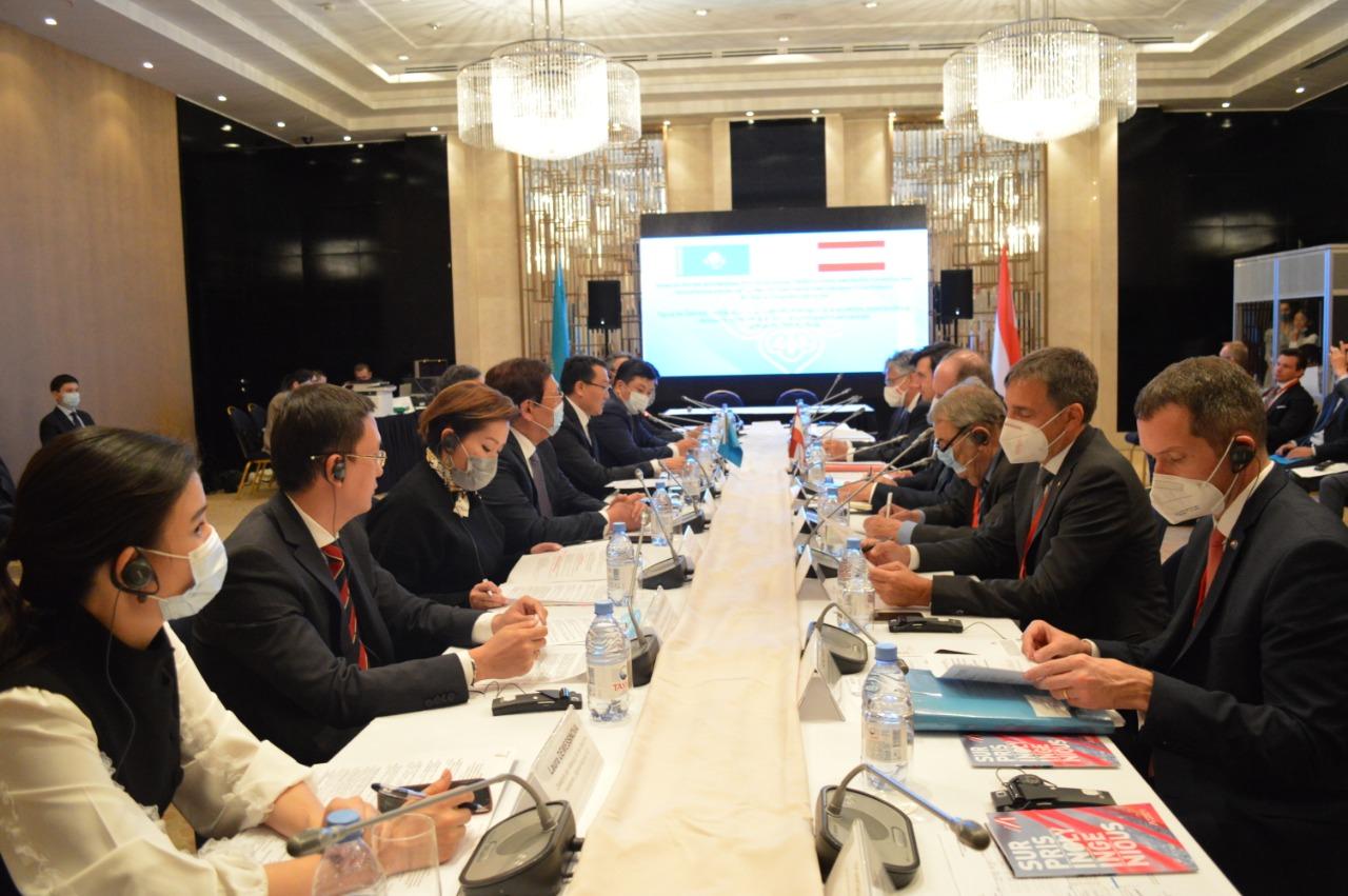 Сколько в Казахстане работают компаний с австрийским капиталом
