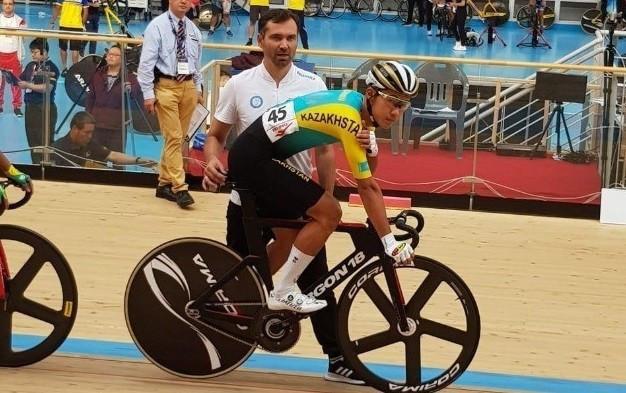Әлішер Жұмақан - тректегі велоспорт бойынша гран-при жарысының қола жүлдегері