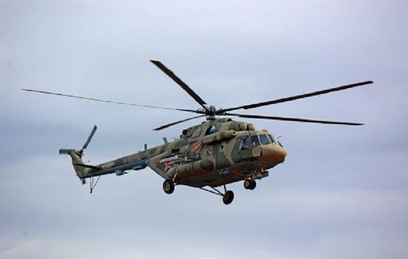 """Российские вертолеты Ми-8 проведут разведку района посадки """"Союза МС-13"""" в Казахстане"""