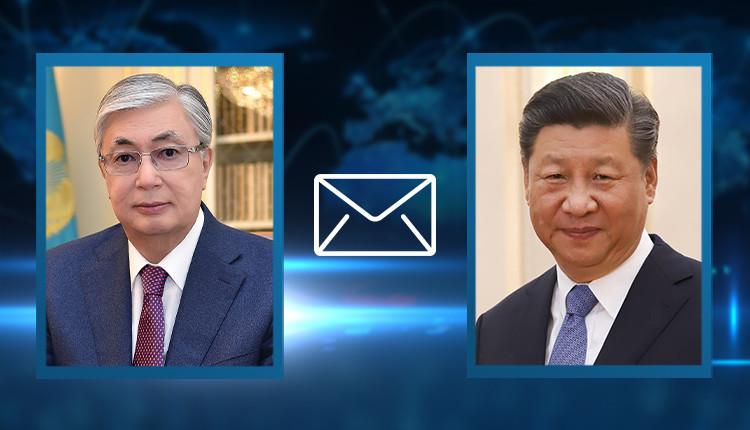 Касым-Жомарт Токаев выразил соболезнования главе КНР