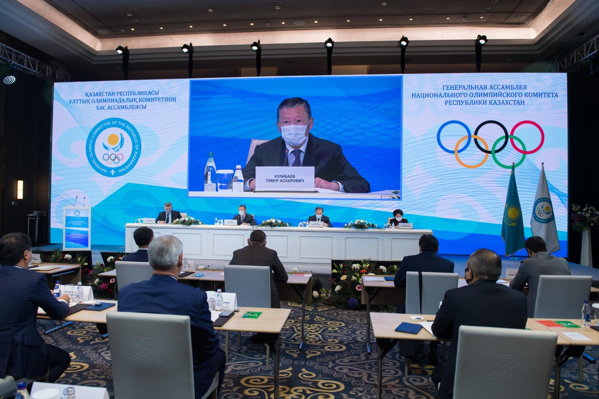 Национальный олимпийский комитет подвел итоги олимпийского цикла