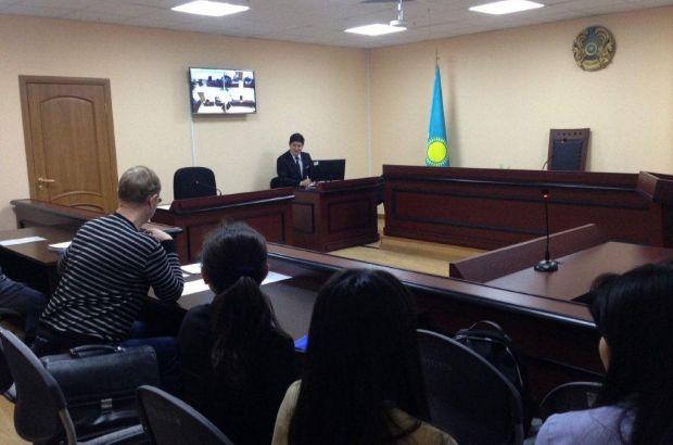 В Алматы возобновлена работа по участию коллективов в заседании судебных процессов