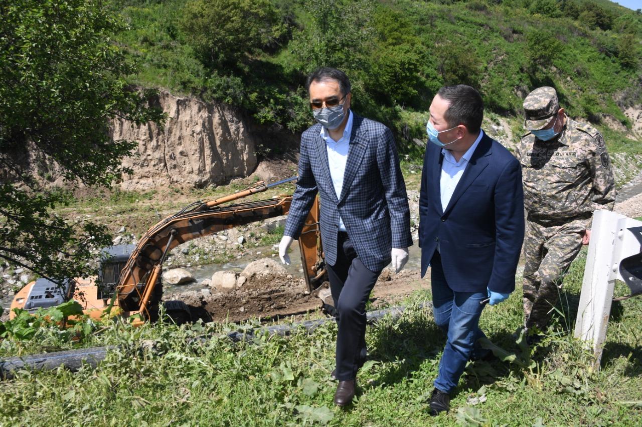 Были приняты беспрецедентные меры по обеспечению чистой питьевой водой жителей Наурызбайского района Алматы