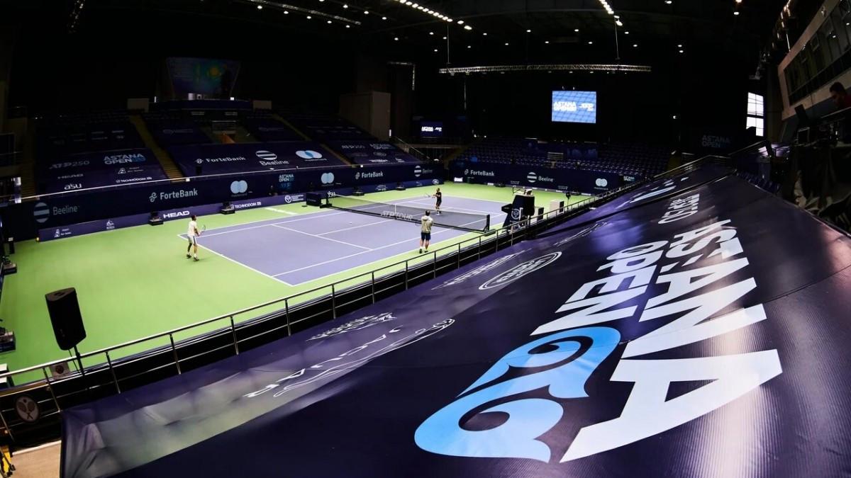 Объявлен состав участников теннисного турнира серии ATP в Нур-Султане
