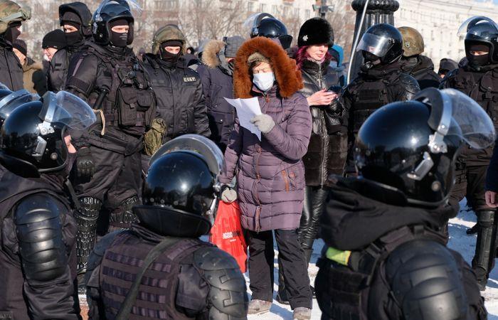 МВД Москвы сообщило о четырех тысячах участников акции оппозиции