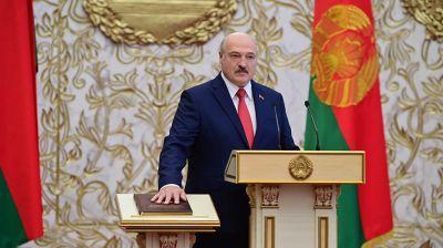 Лукашенко Беларусь президенті қызметіне кірісті