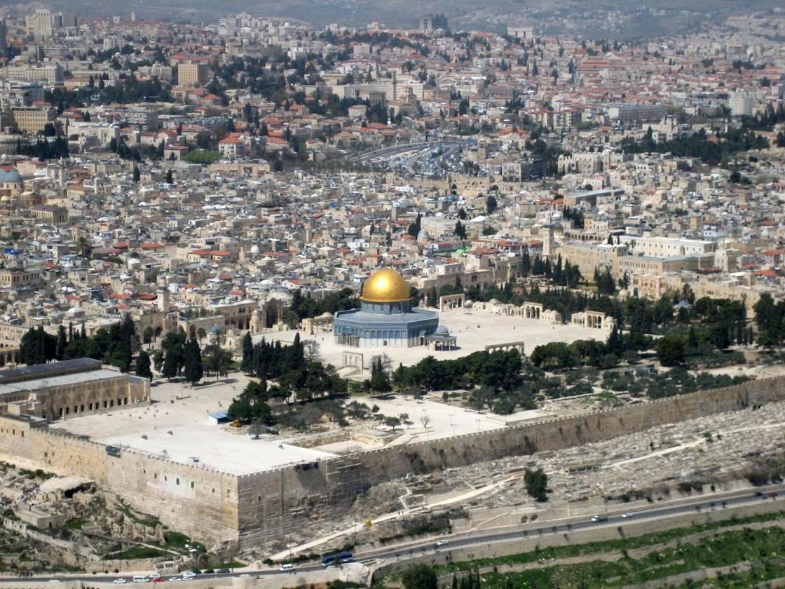 На Храмовой горе в Иерусалиме произошел пожар