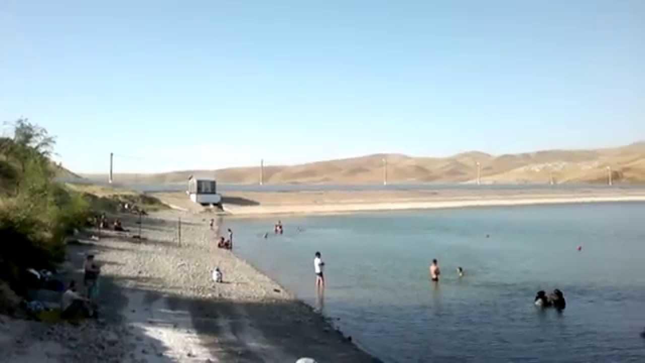 В Шымкенте из-за маловодья мелеют водоемы