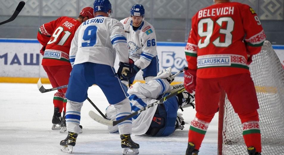 «Барыс» проиграл первый товарищеский матч сборной Белоруссии