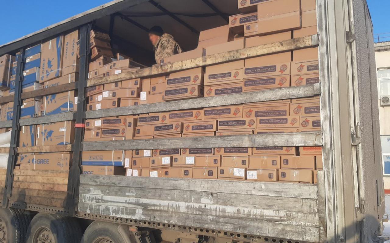 Погранслужбой задержан контрабандный груз медикаментов на пути в Кыргызстан