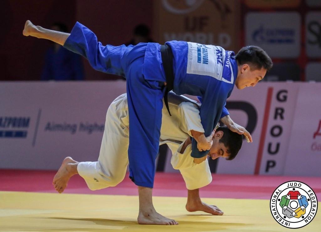 Grand Slam в Казани: Есет Куанов завоевал бронзовую медаль