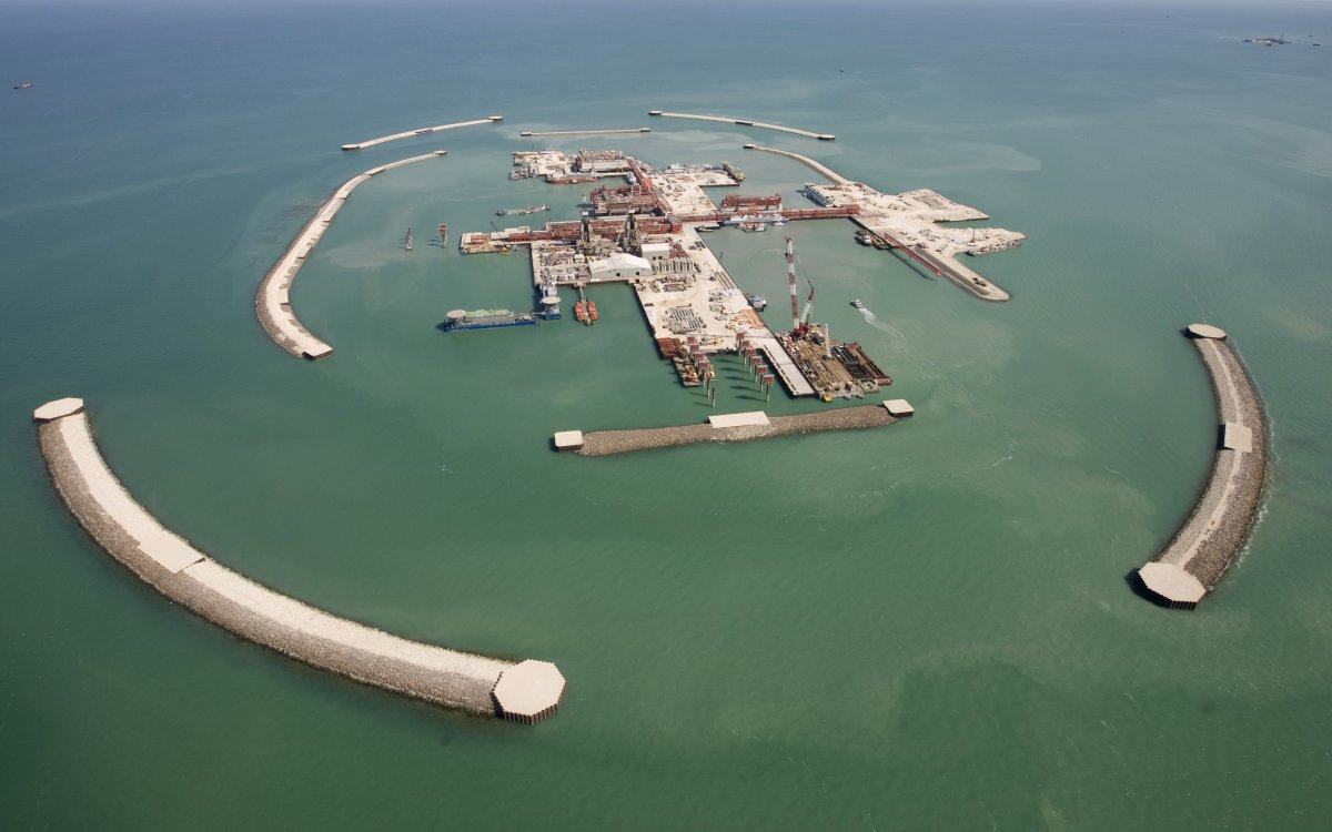 Производство серы на Кашагане достигло 4,5 тыс. тонн в сутки