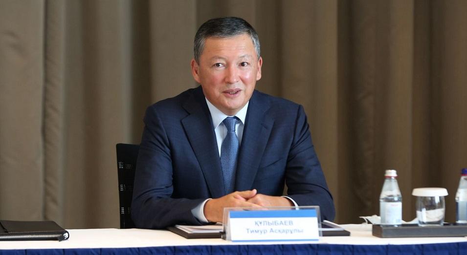 Тимур Кулибаев: Если 20% обучившихся школьников откроют бизнес, в Казахстане появятся десятки тысяч новых предприятий