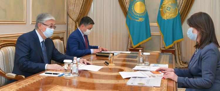 Касым-Жомарт Токаев заслушал отчет о мерах, направленных на развитие госслужбы
