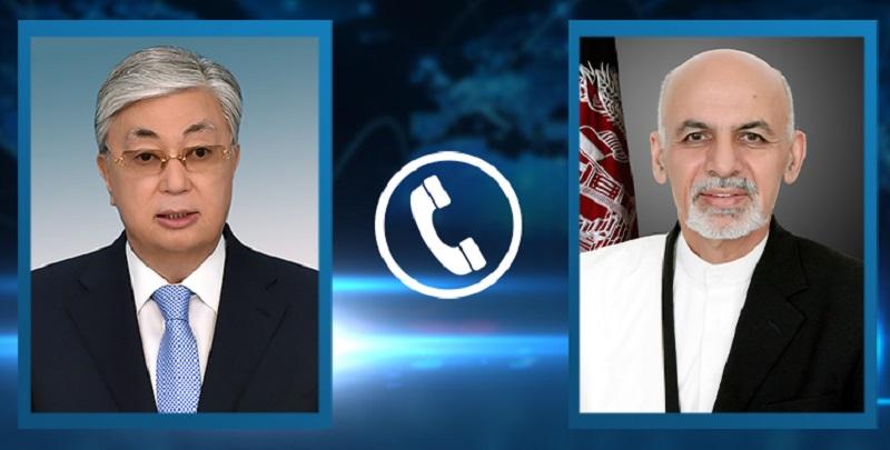 О чем говорил Касым-Жомарт Токаев с президентом Афганистана