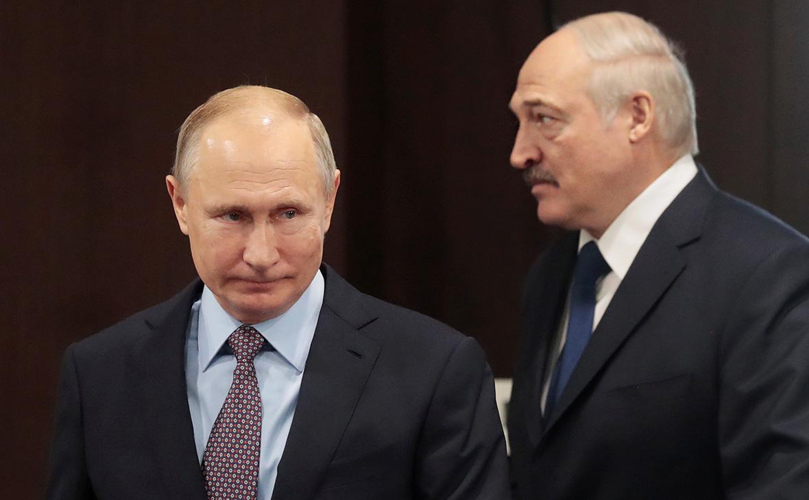 Путин и Лукашенко уверены в скором решении проблем Белоруссии