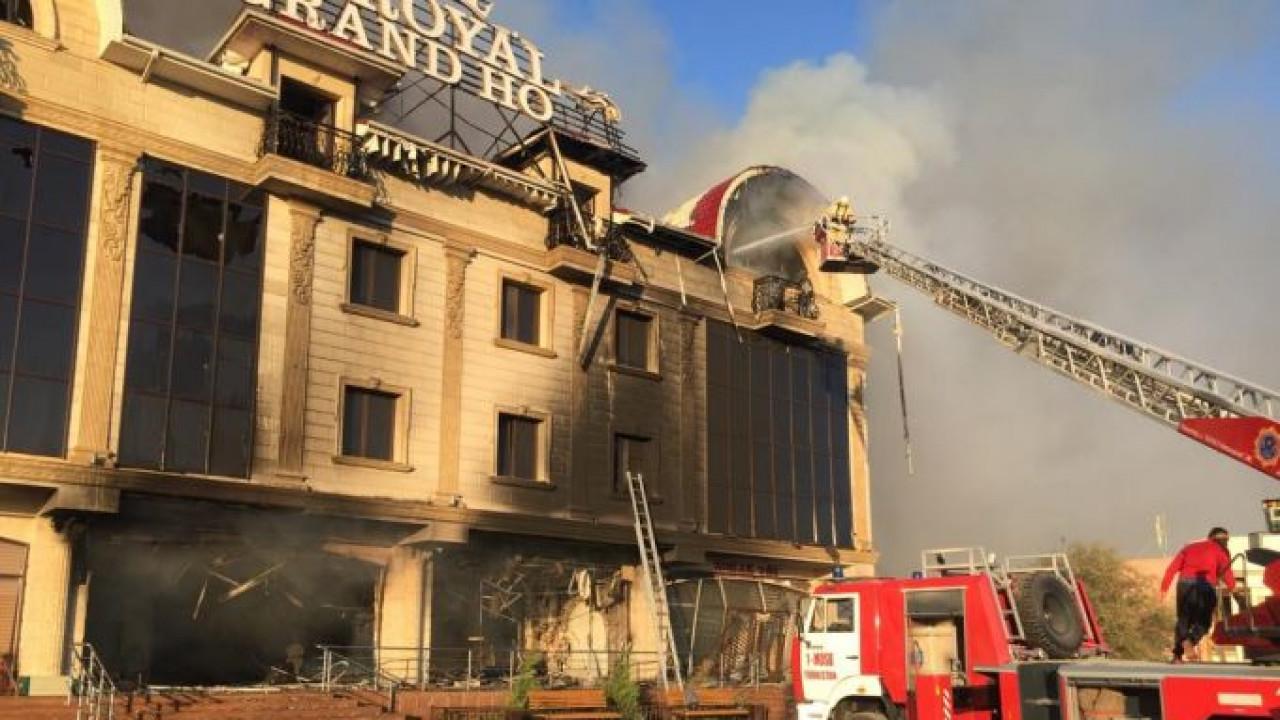 Пожар в Туркестане: число пострадавших увеличилось до 11
