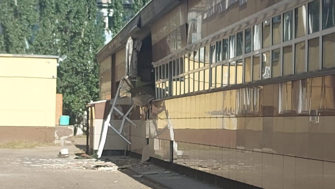 В спортивной школе в Павлодаре обрушилась крыша