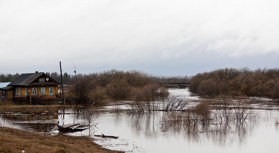В самых опасных районах Казахстана подтоплений не прогнозируется