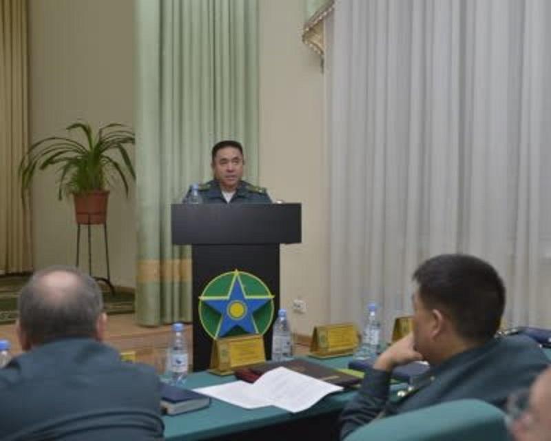 В Астане состоялось заседание Военного совета Пограничной службы КНБ РК