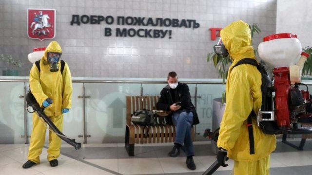 В Москве ввели недельный локдаун из-за роста заболеваемости COVID-19