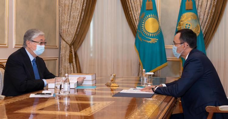 Маулен Ашимбаев рассказал Касым-Жомарту Токаеву о развитии межпарламентского сотрудничества