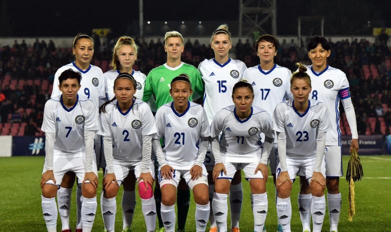 Стал известен состав женской сборной Казахстана по футболу на матч против Сербии