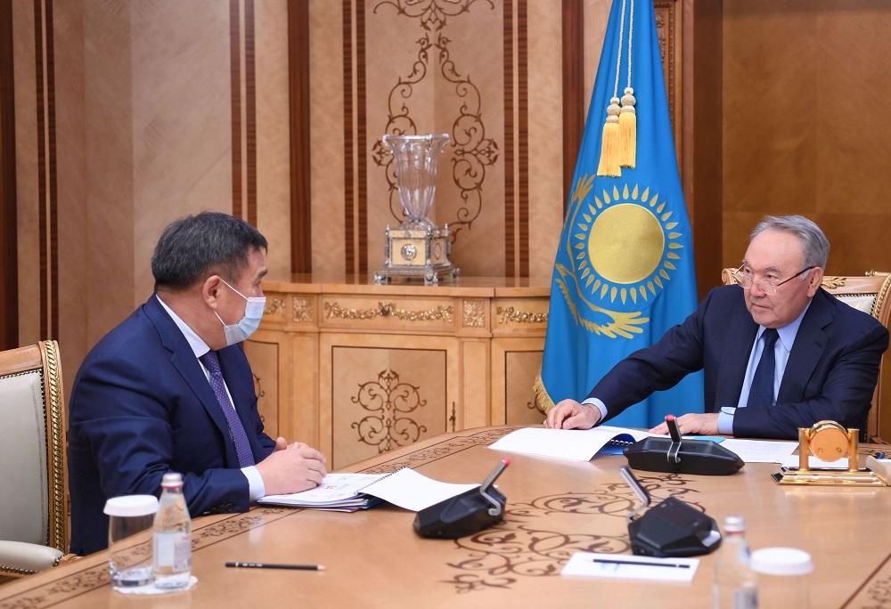 Елбасы принял председателя агентства по противодействию коррупции