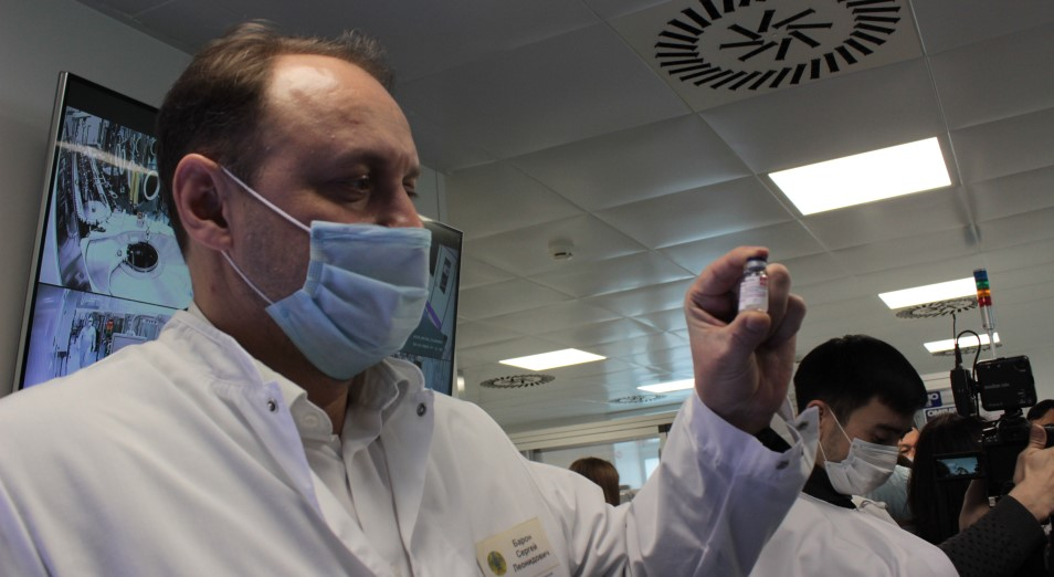 Казахстан не производит вакцину «Спутник V»