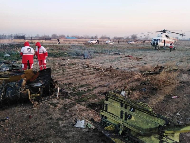 В авиакатастрофе под Тегераном погибли граждане семи стран