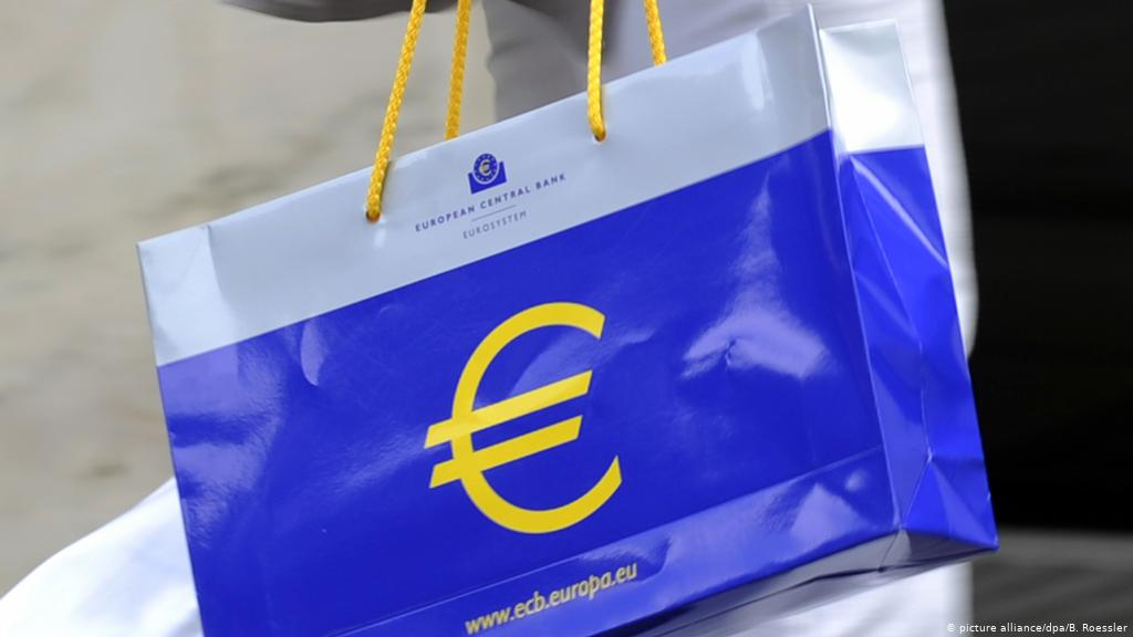 Инфляция в еврозоне в апреле ускорилась до двухлетнего максимума