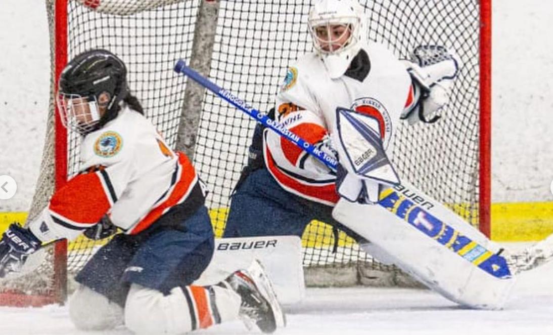 ХК «Айсулу» одержал победу в Европейской женской лиге по хоккею с шайбой