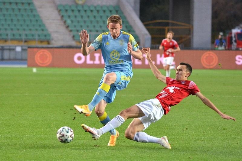 Казахстан не изменил положения в рейтинге коэффициентов УЕФА