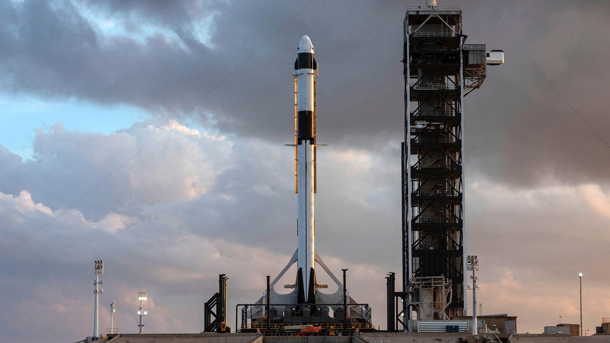 Ракета SpaceX стартовала на орбиту с новой партией из 60 интернет-спутников Starlink