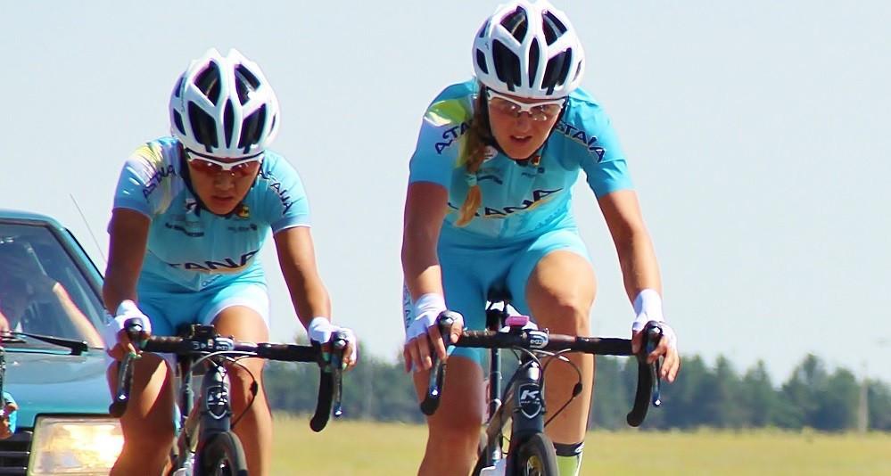 Как казахстанки выступают на соревнованиях по велоспорту в Таиланде
