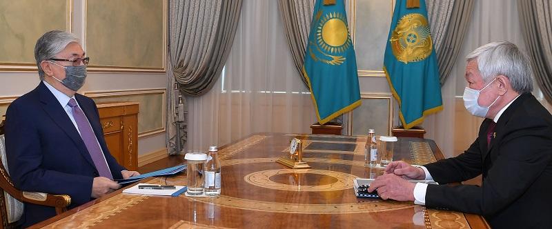 Аким Жамбылской области проинформировал президента РК о положении дел в Кордайском районе