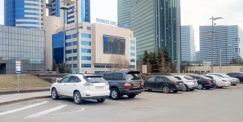 До конца 2019 года в Астане планируют установить более 10 тысяч платных машино-мест