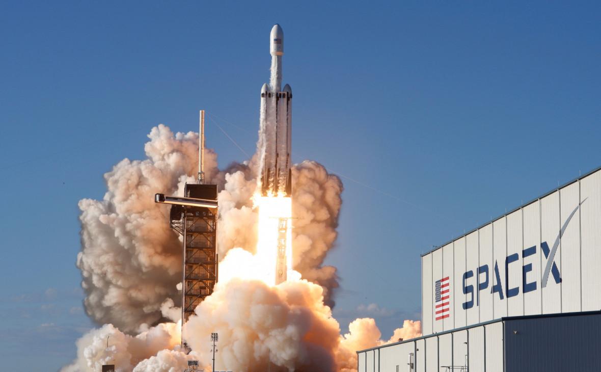 SpaceX собирается запустить группу интернет-спутников Starlink